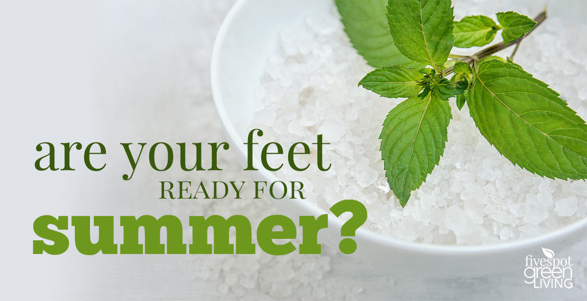 Healing Peppermint Foot Soak