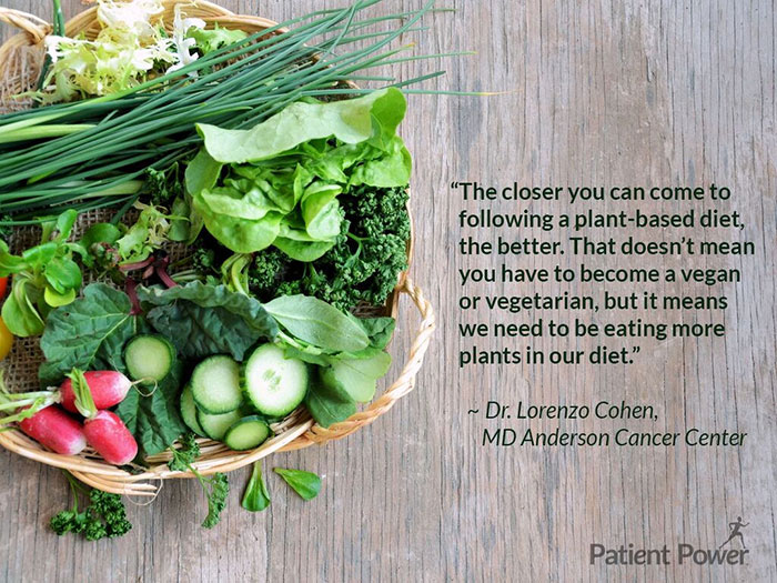The closer you can come to following a plant-based diet, the better. That doesn't mean you have to become a vegan or vegetarian, but it means we need to be eating more plants in our diet.