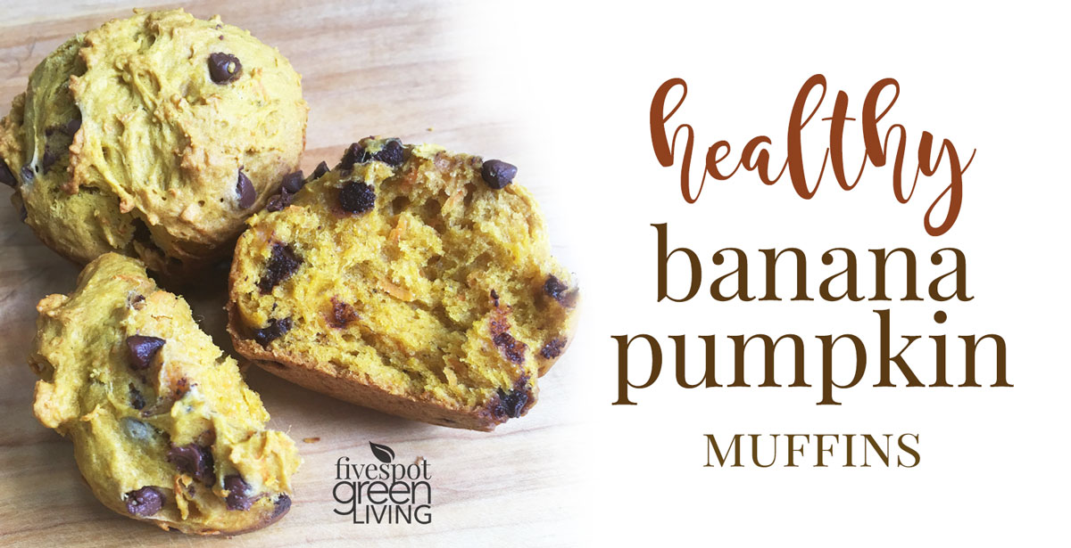 Easy Quick and Healthy Pumpkin Muffins