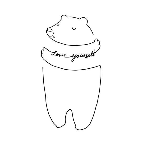 blog-quote-teddy-bear-love-yourself 50 Love Yourself Quotes on Self Care