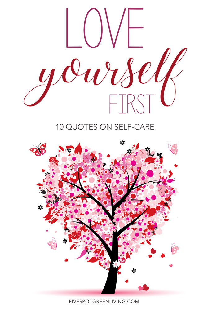 Sorry, love yourself first