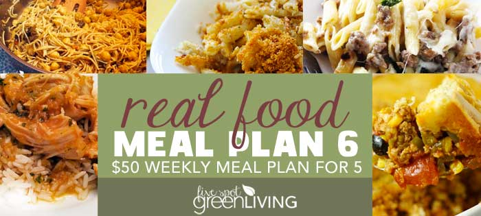 Healthy Meal Plans Under $50 Volume 6