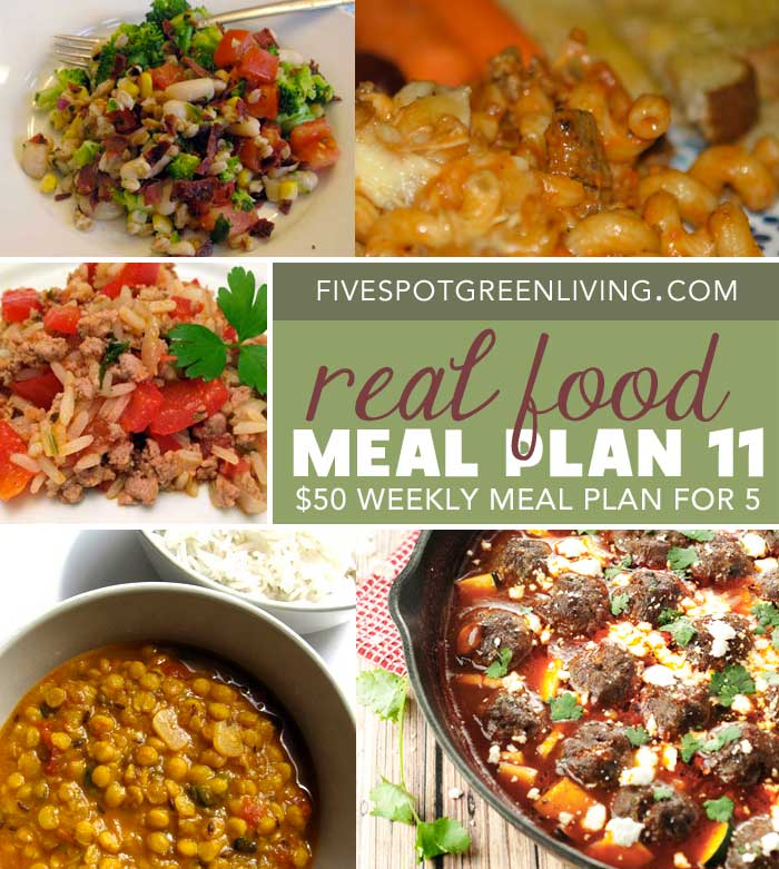 Healthy Meal Plans Under $50 Volume 11