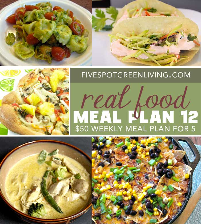 Healthy Meal Plans Under $50 Volume 12