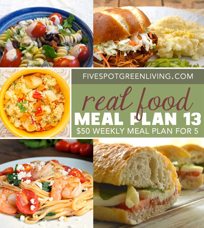 Healthy Meal Plans Under $50 Volume 13