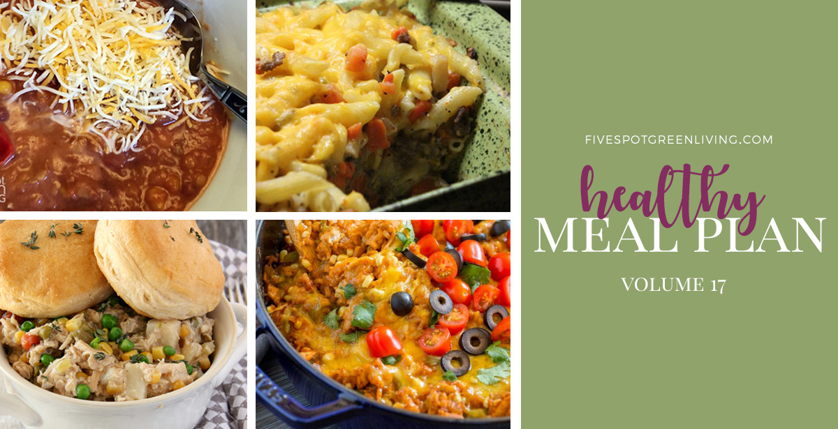 Healthy Meal Plan Weekly Volume 17