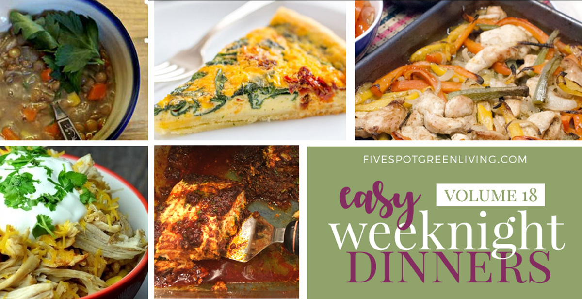 Easy Weeknight Dinners Volume 18