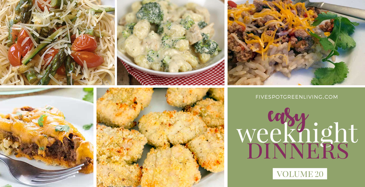 Easy Weeknight Dinners Volume 20
