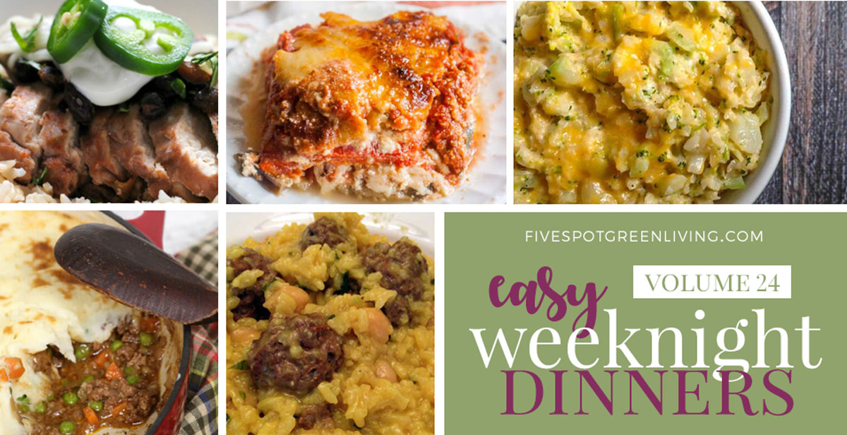 Easy Weeknight Dinners Volume 24