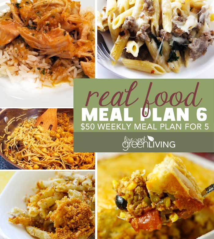 Healthy Meal Plan Volume 6