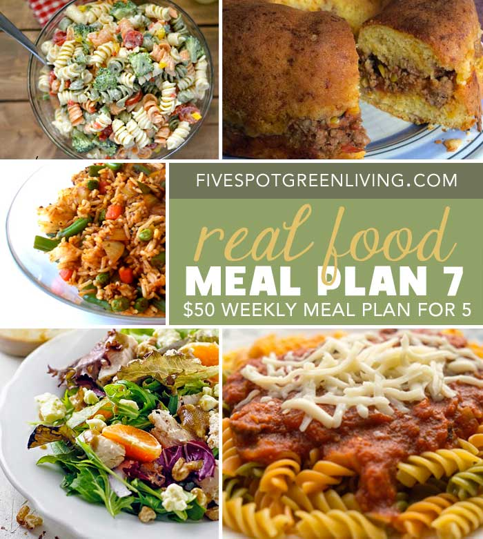 Healthy Meal Plans Under $50 Volume 7