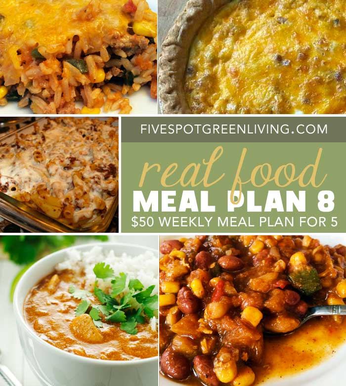 Healthy Meal Plans Under $50 Volume 8