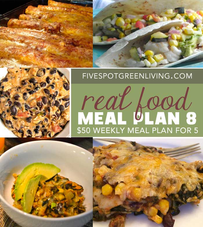 Healthy Meal Plans Under $50 Volume 9