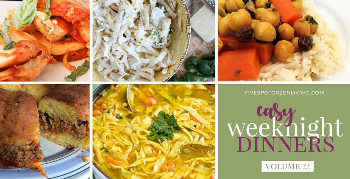 Easy Weeknight Dinners Volume 22