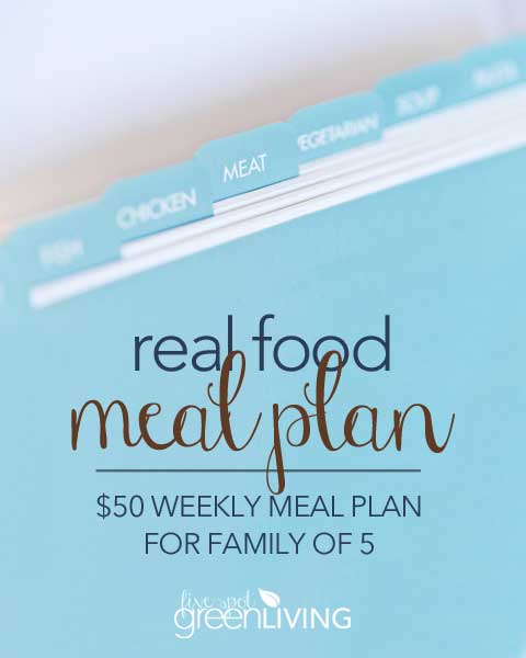 Real Food $50 Healthy Meal Plans
