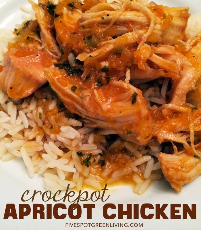 Healthy Recipes: Easy Crockpot Apricot Chicken