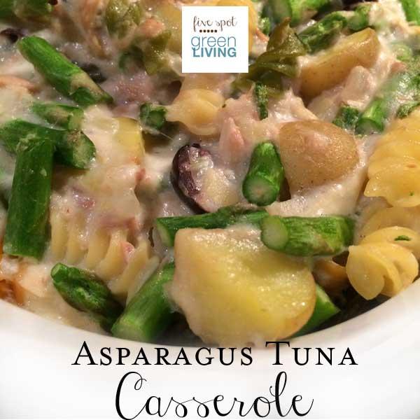 Healthy Recipes: Asparagus Tuna Casserole