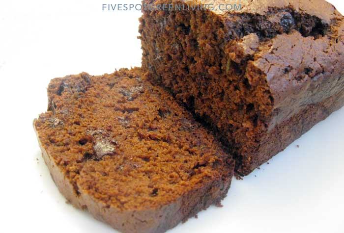 Decadent Chocolate Chip Zucchini Bread
