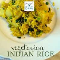 Vegetarian Indian Rice
