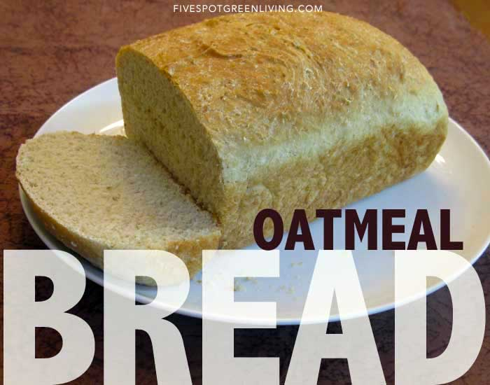 Homemade Bread Recipe with Oatmeal and Honey