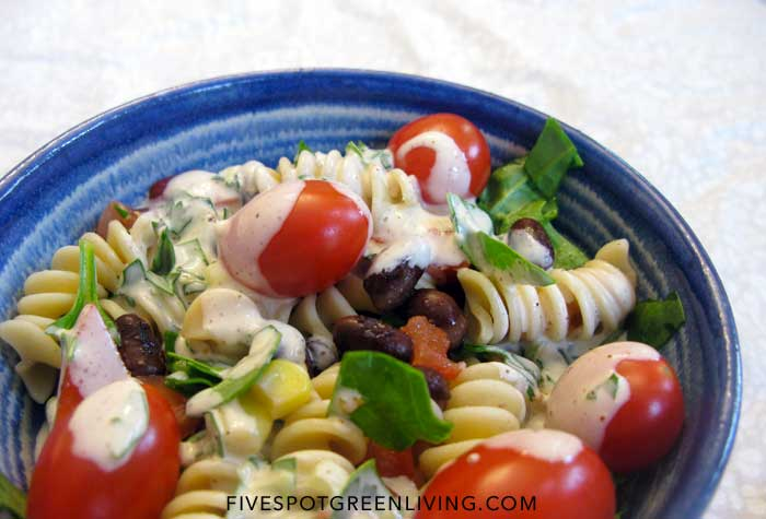 Santa Fe Southwestern Style Pasta Salad