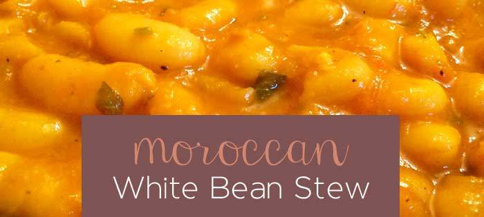 Healthy Recipes: Moroccan White Beans Loubia