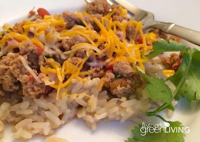 Healthy Recipes: Ground Turkey Taco Skillet