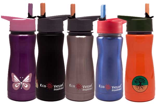 Eco Vessel Reusable Water Bottles