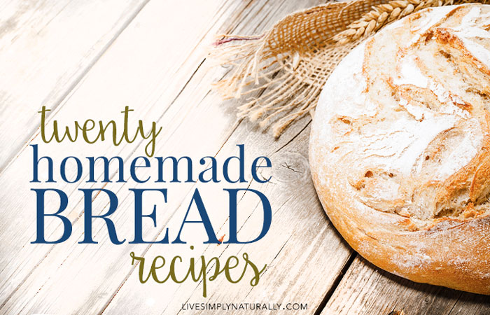 20 homemade bread recipes