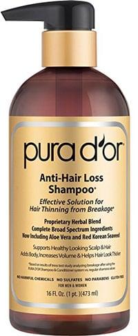 Sulfate Free Shampoo Pura D'or