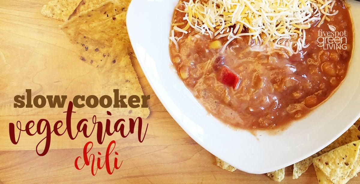 blog-slow-cooker-vegetarian-chili-FB Vegetarian Black Bean Enchilada Casserole
