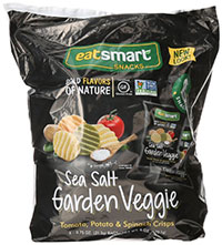 Snyder's of Hanover Eatsmart Natural 100 Calorie Veggie Crisp