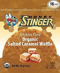 Honey Stinger Organic Gluten Free Waffle, Salted Caramel