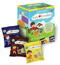 MySuperCookies Organic Whole Grain Cookies