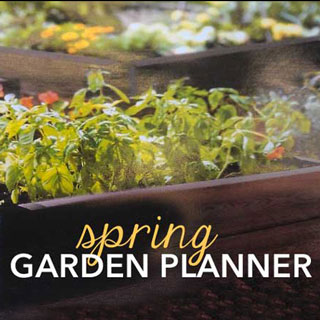 Garden Planner - Spring Planting Guide FiveSpotGreenLiving.com