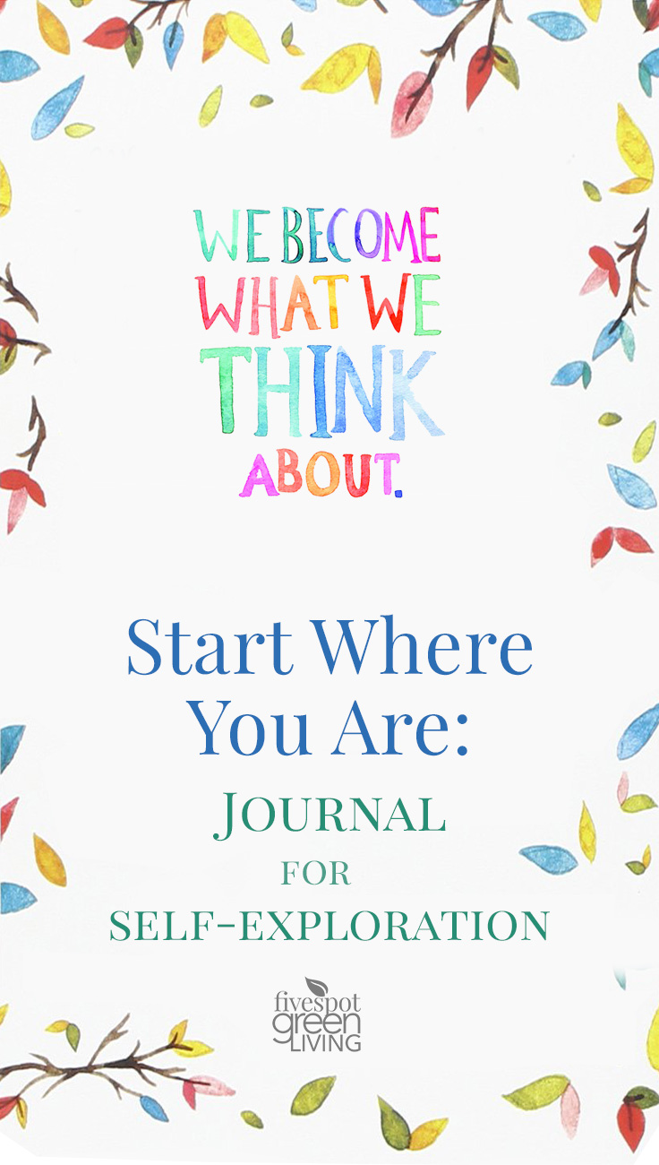 This Start Where You Are Journal has writing prompts to really explore who you are and what you want to do.