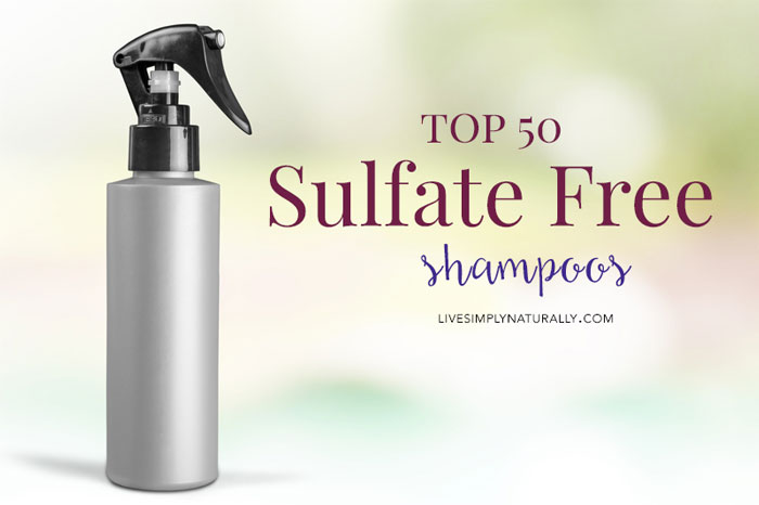 Top 50 Sulfate Free Shampoos