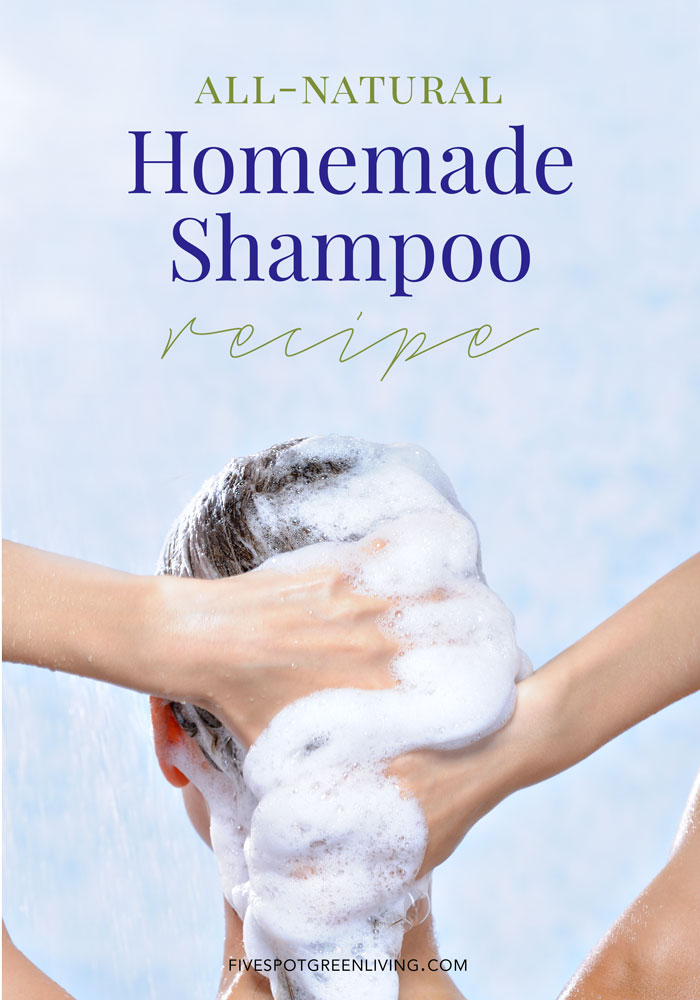 Super easy homemade sulfate free shampoo recipe - How to make shampoo at home naturally easy recipes ...