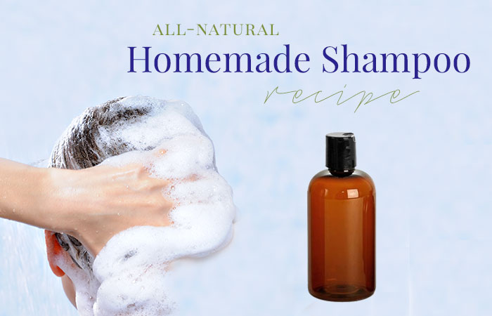 Homemade and Cheap Sulfate Free Shampoo Recipe