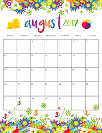 Click here to download the calendar AND the bucket list today!