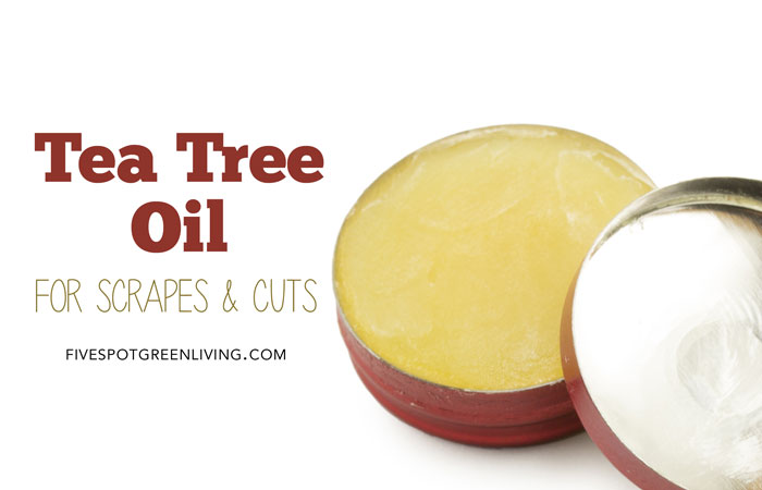 tea tree antiseptic ointment for scrapes and cuts