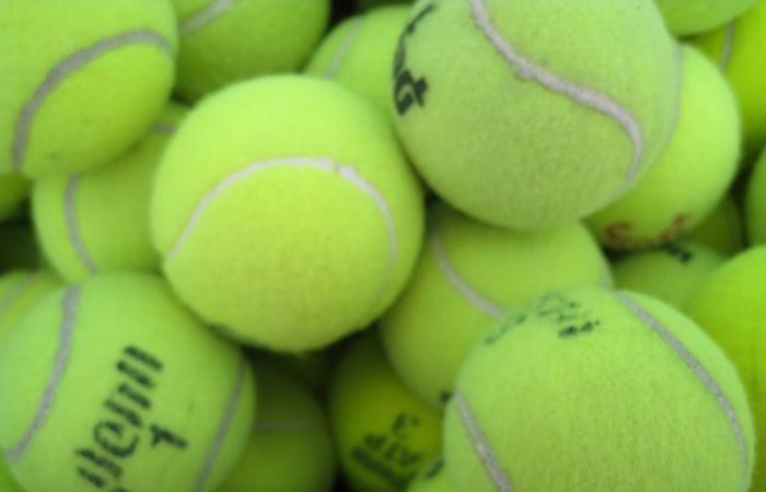 Tennis Balls Laundry