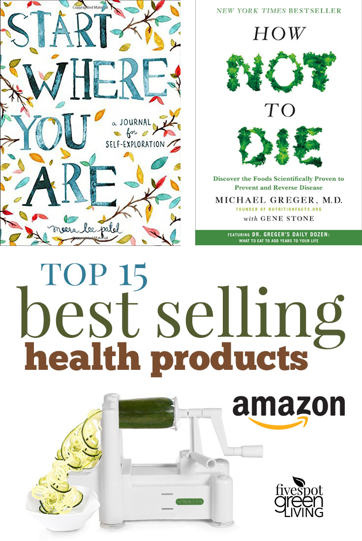 Top 15 Best Selling Health Products on Amazon