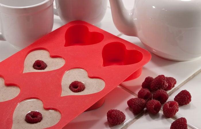 Healthy Valentine's Day Muffins