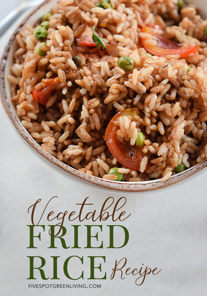 Just Like Take Out Vegetable Fried Rice Recipe