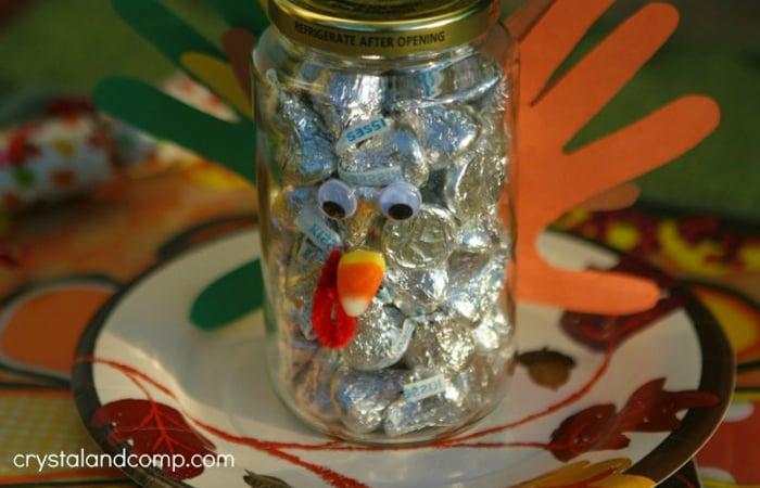 Gratitude Kiss Gift Jar