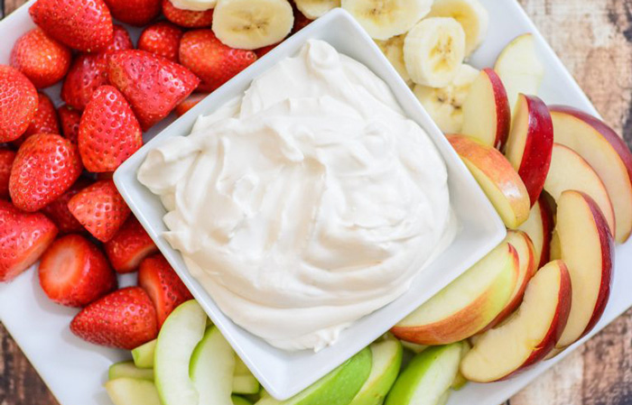 Healthy Yogurt Fruit Appetizer Dip