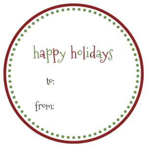 holiday-labels-happy-holidays-3 Free Printable Holiday Labels and Tags