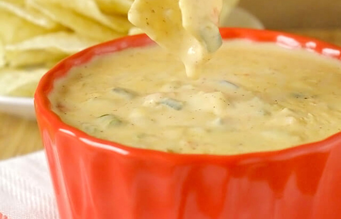 Homemade Queso Appetizer Dip