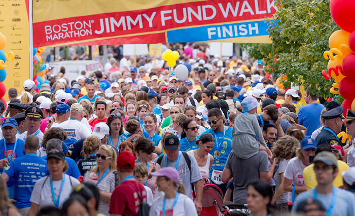 Walk with Me and Fight Cancer with The Boston Marathon Jimmy Fund Walk on September 27